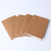 الكتابة على الجدران الرجعية الناعمة copybook اليومية مذكرة كرافت ورقة غطاء يوميات دفتر كرافت ورقة دفتر ملاحظات فارغة ملاحظة