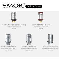 Smok Vape Stylo bobines 0.6ohm DC 0.15ohm Vape Stylo Bobine 0,15OHM 0.25OHM 0.3OHM Tête de remplacement pour Vape Stylo Kit 100% Original