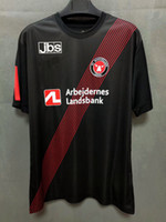 Maillots de football 2021 Midtjylland Soccer Jersey 20 21 Noir Danemark Club FC Chemises à manches courtes Uniformes