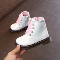 New Shoes White PU Girl' s Fashion Children' s Marti...