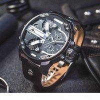 Neue DZ Mens Uhren Quarz Lässige Sportuhr Große Dumin-Datum Lederband DZ7311 DZ7313 DZ7314 DZ7315 DZ7332 DZ7333 DZ4318