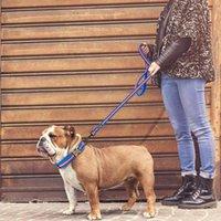4 colori dog guinzaglio piombo in nylon in nylon riflettente cucciolo di animali da passeggio piombo morbido imbottito in esecuzione corda di guinzange corda per piccola medica bbyvuk