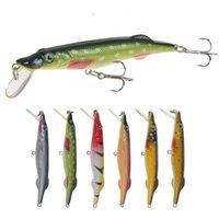 Freshwater плавающие плавательные рыболовные приманка 6Colors 6G 8.5см Minnow Sweadaits LifeLike Рыба стройная тело Walkdog Bait