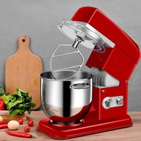 400W Household Electric Mixer 7L 11speed Gears Pasta Mixer Household Blender Low Noise Egg Beating and Kneading Machine 220V >10