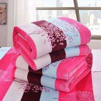 Couvertures de vente à chaud hiver, couvertures de flanelle minces confortables, double grand grand 201128
