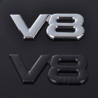 Adesivo de carro Auto Badge Emblem Decalque para V8 Logo BMW Audi Volkswagen Ford Nissan Toyota Honda Engine Emblema Estilo Acessórios