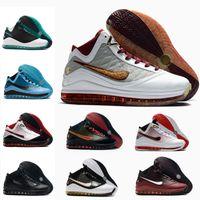 2020 أحدث ليبرونات 7 أحذية كرة السلة الطازجة bred brding الملك تساعد lightyear lebron حذاء 7s اليشم الرجال رياضة المدرب
