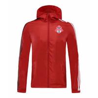 Toronto FC automne et veste casual sport hommes hiver veste de football de mode de vêtements de sport de course respirant