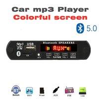 ARuiMei renkli ekran Bluetooth5.0 MP3 Kod Çözme Kurulu Modülü Kablosuz Araç USB MP3 Çalar TF Kart Yuvası / USB / FM Modülü