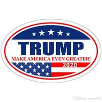 دونالد ترامب ملصق ملصق ثلاجة 2020 الانتخابات الرئاسية ملصقات الحائط حافظ على جعل أمريكا العظمى ملصق مائي لاصق على VT0515 السيارات