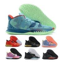 Kyries 7 7S سخن أحذية رجالي أحذية رياضية خاصة FX التعبيرات أيقونة الرياضة الأخضر Soundwave الأخوة Hendrix رجل في الهواء الطلق