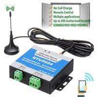 Контроль доступа отпечатков пальцев RTU5024 GSM Gate Replay Releward Remote Беспроводная дверь с антенной 850 / 900/1800 / 1900 МГц1