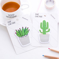 Kaktüs Memo Pad Yapışkan Not Sticker Memo Kitap Not Kağıt N Çıkartmalar Kırtasiye Ofis Aksesuarları Okul Malzemeleri