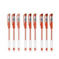 Europäische Norm Gel Stift 0.5M Kugel-Punkt / Nadel-Typ Schwarz-blaue rote Wasserbasis-Pen-Briefpapieröl-Basierer Kohlenstoffhalter VTKY2393