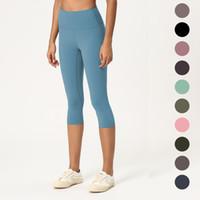Yoga pantolon kadınlar için son derece elastik esnek kumaş tozluk hafif çıplak duygu yoga pantolon spor giyim bayanlar marka tozluk L-006