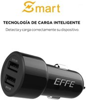 محولات الهاتف الخليوي EFFE مصغرة شاحن سيارة 12W 2.4a المزدوج منفذ USB ميناء محول 2 لشاحن المحمول 1