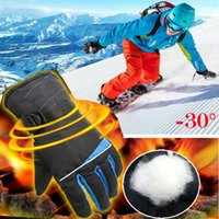 Five Fingers Guantes Marca Hombres Impermeable Invierno Deportes Cálido Térmico Ski Snow Motocicleta Snowboard Gloves1