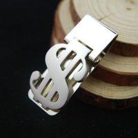 Money Clips 2021 Alliage de zinc en acier inoxydable Slim Pocket Hommes Design Novel Clip Portefeuille Carte de caisse Business Dollar Titulaire Métal Bill Clamp1
