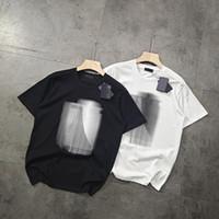 2020 USA Frauen Männer Casual Klassische T-Shirts Männer T-Shirts Kurzarm High-Density Baumwolle Sommerbrief Druck Perfekte Detail Tshirts
