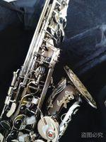 Копировать Германия JK SX90R Keilwerth Саксофон альт Реальное изображение Black NickeI Профессиональный музыкальный инструмент саксофон мундштук