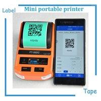 Мини Термическая этикетка для печати этикетки этикетки с USB / Bluetooth для сетевых кабелей, кабеля хвоста, плоский кабель, проверка кабеля etc1