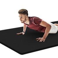 Mats de yoga 183 * 61cm NBR Mat de alta calidad Ejercicio antideslizante Deporte para gimnasio Home Fitness Pads sin sabor gimnasia VIP