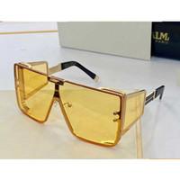 إمرأة تسوق نظارات نجمة 102C من قطعة واحدة إطار معدني UV400 النظارات الواقية ظلة المتضخم مرآة نفس النظارات الشمسية