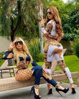 Moda donna vestito con vendita calda digitale stampa oro america stile casual stile due pezzi vestito tuta donne donne abiti da donna abbigliamento donna