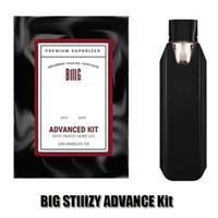Grande Stiizy Kit Avançado Starter Vaporizador Premium 550mAh Capacidade de Bateria Recarregável Baterias Real Empacotamento PODs E Cigs Vape Pen