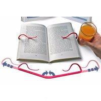 Kitaplar için Taşınabilir Tembel Boş Dekoratif Bookends Kitap Marks İmi Okuma Kitabı Tutucu Ev Okul Malzemeleri Standı