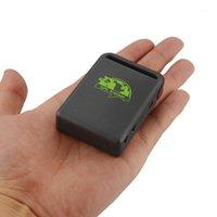 Автомобильные GPS аксессуары Mini Personal Tracker GPS102B Geo-Refens Tranch Tracking Tracking Tool TK102B на скоростной сигнализации Поддержка многоязычного App1