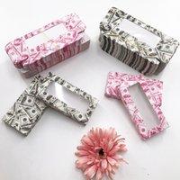Neue 20/50 / 100pcs weiche Papier-Verpackungs-Kasten für 25mm Lange Wimpern Großhandelsmassen Günstige Recht Lashes Lagerung Verpackung