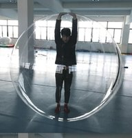 1.3m 1.5m 1.8m Toy Água miúdos que andam PVC Bola inflável Bola Rolando Dancing Water Zorb Balls Sport Balls grandes