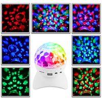 LED Ослепительный свет этапа LED RGB контроллер Magic Ball Bluetooth Speaker Вращающаяся лампа для КТВ партии DJ Disco House Club