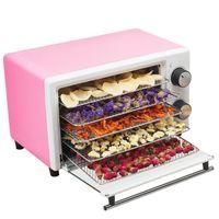 Dehidrators Kurutulmuş Meyve Makinesi Dehidrasyon Hava Kurutucu 220 V 5 Katmanlar Ev Kuru Meyve Sebze Et Makineleri Snacks