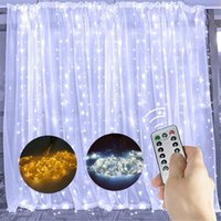 Merry Christmas Decorations for Home 3M Christmas Curtain Li...