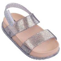 Mini Melissa Nouveau Summer Girls Garçons Jelly Chaussures Non-Slip Enfants Beach Sandal Sandal Toddler Chaussure Sandales Soft Sandales Fille Chaussures plates Y200103