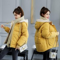 new winter cotton padded jacket Women Short Korean loose dow...