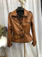 Veste en peau de mouton naturelle en cuir pour femmes 20 Automne / hiver