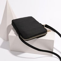 Bolsas de hombro Mini Paquete Pequeño Paquete Móvil Bolsa de Teléfono Femenino Trend Sección Vertical Salvaje Oxford Paño Messenger Square