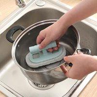 Ванна кисти чистка кисти ванная комната плитка кисти кухонная дезактивация мытья горшок волшебная губка h jllakf