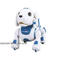 YDJ K22 RC Robot Köpek Oyuncak, Dokunmatik Algılama Kontrolü, Dans Sing, Işıklar, Akıllı Programlama, İngilizce Öğrenin, Noel Çocuk Doğum Günü Hediyesi Için