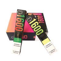 Puf XXL 1600 Puffs Tek Kullanımlık Vape Kalem Cihazı Başlangıç Kitleri Boş Tek Kullanımlık Cihaz Kitleri Puf Akışı Puf Xtra Artı Yemekleri Ambalaj Runtz