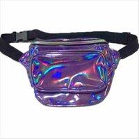 Holographic Silver Pack Laser PU Waist Travel Hip Black Crossbody Bumbag Iridescent Bag Blue Gold Purple Fanny Uuvcp