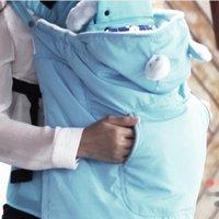 Portadores, lingas mochilas wrap wrap sling portador de bebê ao ar livre mochila cobertor manto 54df