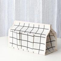 Caixas de tecido de algodão e lençóis multi função dustproof titular do guardanapo organizador caso criativo com alta qualidade 5WS J1