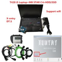 TOP Quality laptop T420 with MB STAR C4 SD CONNECT Diagnostic Tool with v2020.09 soft-ware hdd ssd support wifi DHL FREE