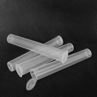 PRE PROOLOGGIO TUBO BLunt BLunt Joint HINGED Flip Lid Squeeze Bottle Pub Nelf Clear Color 118mm Tubi per Preroll Blunt DHL GRATIS