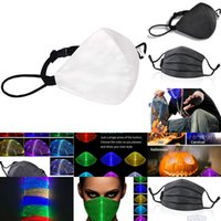 Fashion Glowing With PM2.5 Filter 7 Colors Luminous LED Face Masks for Christmas Party Festival Masquerade Rave Mask A2223 4 NI5EP