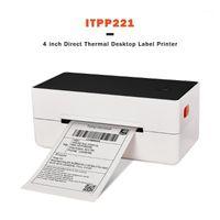 프린터 IssyZonePos 레이블 바코드 프린터 4 인치 4 × 6 USB 열 종이 인쇄 익스프레스 Lable Printer1